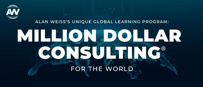 Million Dollar Consulting® Global Online Program