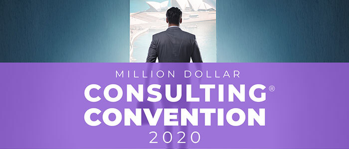 Million Dollar Consulting® Convention in Sydney