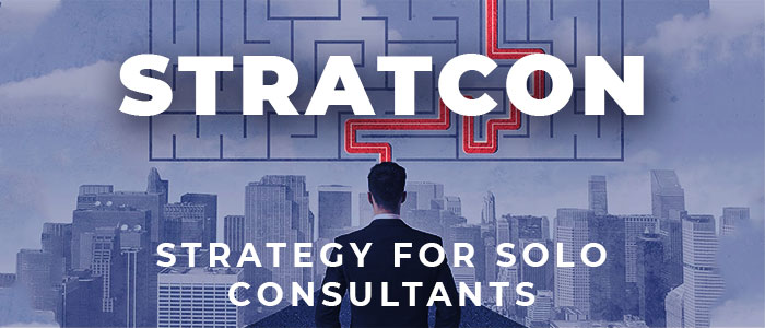 StratCon: Setting a strategy as a solo consultant or boutique firm owner