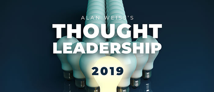 Thought Leadership 2019