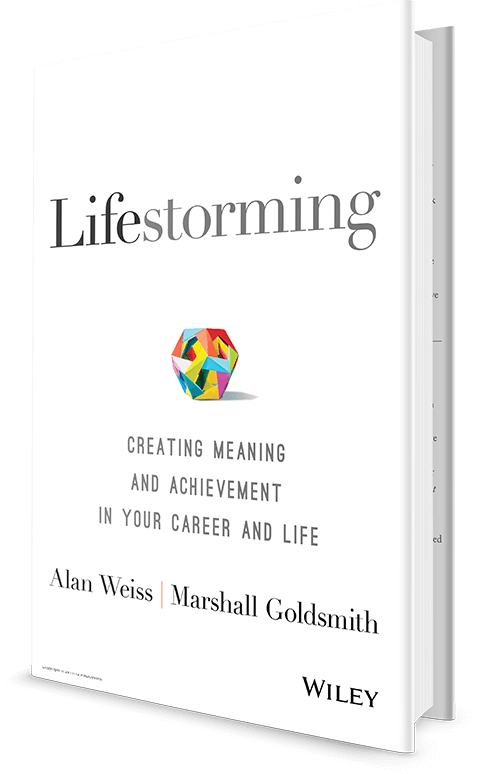 Image result for lifestorming Alan Weiss and Marshall Goldsmith